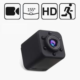 2019 batteria dvr auto Videocamera di sicurezza SQ18 Mini videocamera 1080P IR Night Vision Videocamera DVR per auto Videocamera Buit-in 180mAH Batteria Sport fotocamera digitale Mini DV batteria dvr auto economici