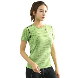 a88bb6526 LANBAOSI 5 Colors Women Yoga Shirt for Fitness Running Sports T Shirt Gym Quick  Dry Breathable Sport Short Sleeve Tops Y50