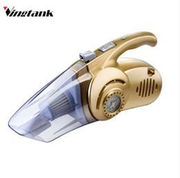 Medidores de vácuo on-line-Vingtank Multi-função Portátil Wet / Dry Car Vacuum Cleaner Iluminação Pneu inflável Medidor De Pressão Da Bomba 120 W Vácuo Portátil