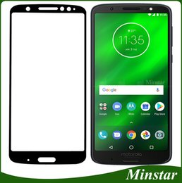 Wholesale factory films - For Motorola Moto G6 Plus G6 Play E5 Plus E5 Play X5 Z3 Play K20 Plus Tempered Glass High Quality Factory Full Cover Cheap Protective Film