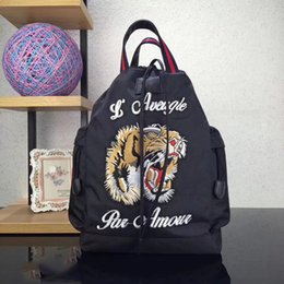 Wholesale Purse Backpacks - Pink sugao new style replica G embroider animial high quality luxury bag purses backpacks designer backpack famous brand bag luxury backpack