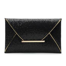 Enveloppes en cuir en Ligne-2018 dames scintillement Bling jour pochette sac de soirée sac à main sac à main en PU enveloppe en cuir paillettes paillettes haut-poignée Sacs