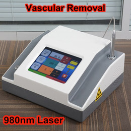 Wholesale permanent homes - professional 980nm diode laser spider vein removal machine permanent vascular therapy spider veins laser Medical grade salon home use