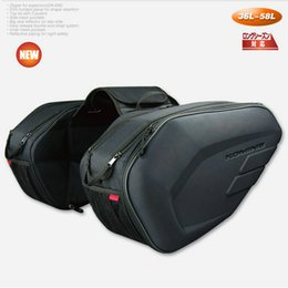 Wholesale motorcycle rear seat cover - NEW SA-212 Motorcycle Saddle bag Saddlebags luggage Suitcase Around Motorcycle Rear Seat Bag Saddle with Waterproof Cover
