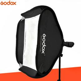 Soporte de godox online-venta al por mayor 40 * 40 cm plegable caja suave Godox Suitbale para S-tipo soporte Flash de la cámara (40 * 40 cm Softbox solamente)