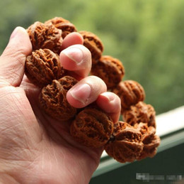 Venda por atacado - Padrão de pipoca padrão de formiga pecan selvagem puro para jogar peças de mão selecionar de