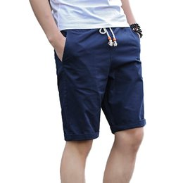 Wholesale Preppy Mens Clothes - 2018 Brand Clothing New Summer Shorts Men Casual Shorts Cotton Fashion Streetwear Mens Hot Beach Big Size M - 5XL