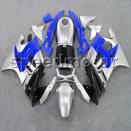 Wholesale Honda F3 Plastics - 23colors+Gifts blue silver black CBR600 F3 95 96 motorcycle cowl Fairing for HONDA CBR 600F3 1995 1996 ABS plastic kit