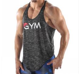 f9722f54c261 2018 Gyms Tank Tops Mens Undershirt Sporting Wear Patchwork Bodybuilding  Men Fitness Exercise Clothing Vest Sleeveless Shirt
