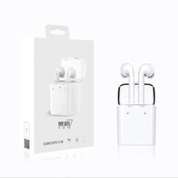 2018 стильный наушник для наушников Dacom GF7S TWS True Bluetooth-наушники Стерео беспроводные наушники для наушников Bluetooth для iPhone Samsung Смартфоны Бесплатная доставка