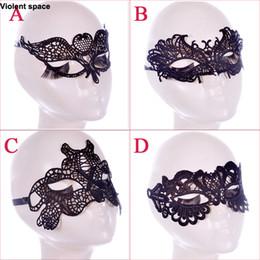 braçadeiras de tornozelo Desconto Violento espaço Preto Sexy Lace Máscara Máscara de Olho para o Disfarce do Partido Fantasia Adulto Jogos para Casais Sex Toys Mulher