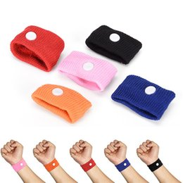 Wholesale band cuff - TOP Sports cuffs Safety Health Care Travel Wristbands Anti Nausea Car Seasick Anti Motion Sickness Motion Sick Wrist Bands 1500pcs lot.