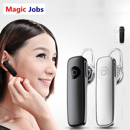 Magic_jobs Mini White V4.0 Stereo senza fili Auricolare Bluetooth Cuffie con microfono universale per iPhone Tutti i cellulari da