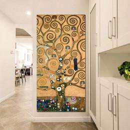 L Arbre De La Vie Gustav Klimt Article 1 Pièce Toiles Imprimées Peinture Murale Modulaire Photo Peintures Décoratives Chambre