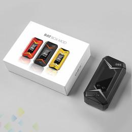 Wholesale Led Features - Authentic OBS Bat Mod Vaporizer 218W Box Mod E Cigarette Featuring the 7 Colors gradients LED light DHL Free