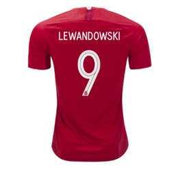 Wholesale Rugby Kits - Mens 2018 lewandowski home jersey best quality fans kits