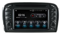 Mercedes benz gps navigazione dvd online-Lettore DVD per auto Android 8.0 per Mercedes Benz SL R230 2001 2002 2003 2004 con GPS Navigation Radio BT Stereo 4Core 4G + 32G