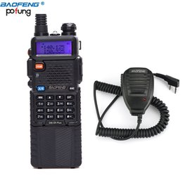 Wholesale Baofeng Radio Mic - Baofeng DM-5RPlus Dual Band DMR Digital Radio Walkie Talkie VHF   UHF 136-174   400-480MHz 3800mAh Two-Way Radio+One Speaker Mic