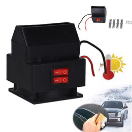 Wholesale warm air blower - Vehemo Car Auto Electric Fan Heater Windshield 12V 150W Windshield Defroster Car Winter Warmer Air Blower Accessories