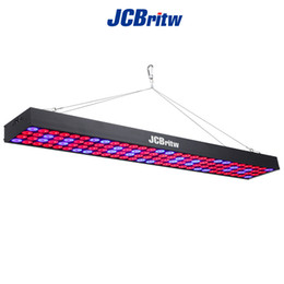 Wholesale Led Panels For Growing Plants - LED Grow Light, JCBritw 60W Plant Grow Light Panel Aluminum Include Switch with Red Blue Spectrum for Hydroponic Indoor Planting Greenhouse