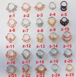 2019 anello settico indiano 2015 caldo di alta qualità Septum Cuff Indian hoop naso anelli anelli naso e borchie spedizione gratuita sconti anello settico indiano
