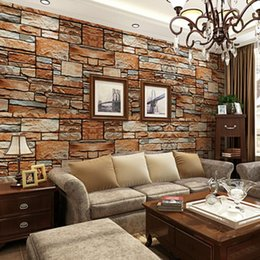 beibehang трехмерное моделирование грязный камень рок культура камень обои спальня гостиная телевизор диван фон обои от