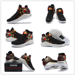 Wholesale White Thread China - 2018 New China Blooming New Year 32 Flights Speed Westbrook Men's Basketball Shoes for High quality 32s XXXII Sports Sneakers Size 40-46