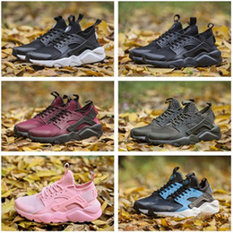 Wholesale Table Tennis Shoes Free Shipping - 2017 2018 New Huarache IV Ultra Running shoes Huraches trainers for men & women Multicolor shoes Triple Huaraches sneakers free shipping