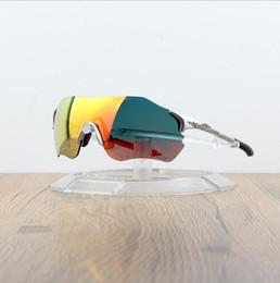 Gafas deportivas transparentes online-Gafas de sol EV Ciclismo O Marca Hombre Moda Gafas de sol polarizadas TR90 Deporte al aire libre Gafas para correr 9313 Colorido, polarizado, len transparente