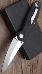 2019 cuchillos de supervivencia de buena calidad Al por mayor BUENA calidad G10 Mango C175 Alta calidad Custom Skike Pocket Cuchillo plegable D2 Hoja de acero Tactical supervivencia Cuchillos que acampan rebajas cuchillos de supervivencia de buena calidad