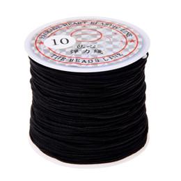 Canada Corde Élastique pour Rouler Corde 1mm Noir Longueur 24m cheap black elastic roll Offre