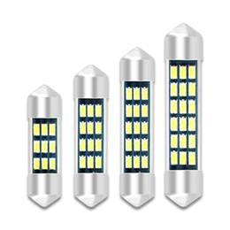 0c59736dc50 1 Unidades de Luz Suave Lámpara LED para Coche C5W C10W Lámpara de Luz  Interior de Cúpula LED Para Coche Adorno 31mm 36mm 39mm 41mm 3014 12v Auto
