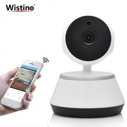 caméra sans fil ptz caméra nocturne Promotion CCTV 720P WiFi Mini Baby Monitor Caméra IP Sans Fil PTZ P2P Surveillance Surveillance Caméra de Sécurité Accueil Moniteur Vidéo Vision Nocturne