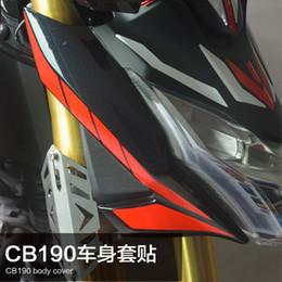 Canada Spirit Beast moto modifié époxy réfléchissant 3d Storm Eye ornement autocollant pour honda CB190R L1 Offre