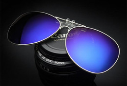 Wholesale Eyeglasses Multicolor - Polarized Sunglasses Classic Aviator Sun glasses for Men Women Driving glasses UV400 Metal Frame Flash Mirror polaroid Lenses b33