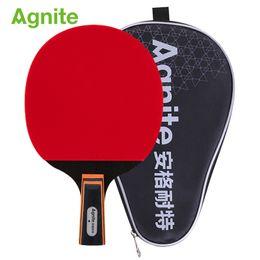 75fbf8de8 2019 raquetes de tênis por atacado Agnite uma estrela ofensiva raquete de  tênis de mesa 1