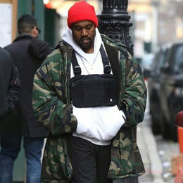 street backpack Coupons - ALYX Kanye West Street Hip Hop Chest Bag Tactical Cross Body Practical Backpack Men Women Tide Fashion Casual Small Bag HFLSBB036