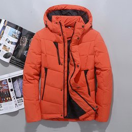 2f3769c3927 Winter Hooded Duck Down Jackets Mens Warm Thick Quality Down Coats Male  Winter Outerwear Down Parkas Man Puffer Jackets discount mens puffer jackets