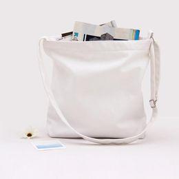 Wholesale Microfiber Logo - 2018 Original Canvas Shoulder Bag Literature and Art Model Sling Bag Blank Bag Customize Logo
