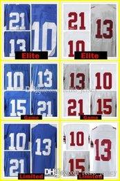 Wholesale Eli Manning Jersey Xxl - 10 Eli Manning 13 Odell Beckham Jr Jersey 21 Landon Collins 15 Brandon Marshall 87 Sterling Shepard Jerseys Embroidery 2018