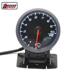 Calibro del drago 60mm Funzione di auto-test Motore passo-passo Auto Car Tachimetro RPM Gauge da