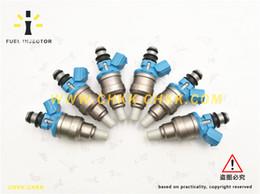 Canada Injecteur de carburant pour 1992 TOYOTA LAND CRUISER MOTEUR GAZ RAIL OEM: 23250-61010 bonne qualité Offre