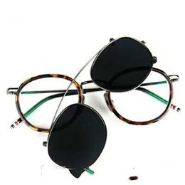 1eb022942d New eyeglasses frame clear lens glasses frame restoring ancient ways oculos  de grau men and women myopia eye glasses frames TB710 with case