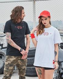 Wholesale Oriental Women Dress - Fashion Hip-hop Style Women 100% Cotton Loose T-shirt Oriental Beauty Printing Round Collar Couples Dress Men Also Can Wear Short Sleeved