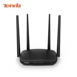 2019 alternar aux Tenda AC5 AC1200 Router 5dBi Antenas Wifi 2.4Ghz 5GHz Dual Band Routers APP Wifi de controle com interface de Inglês