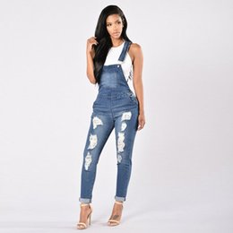 bbf73b79536 Fashion Women Denim Jumpsuit Ladies Spring Fashion Loose Jeans Rompers  Female Casual Plus Size Overall Playsuit With Pocket discount ladies size  denim ...
