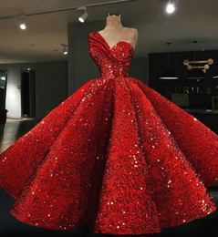 Wholesale Kardashian L - Evening dress Yousef aljasmi Kim kardashian Red Ball gown One-Shoulder Floor Almoda gianninaazar ZuhLair murad Ziadnakad Orders999