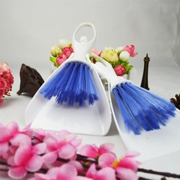 Wholesale floor brooms - Pets Cage Accessories Brush Broom Dustpan Pet Cleaner Shovel Keyboard Home Cleaning Supplies Gifts Pet Brushes