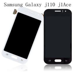 Licht ace online-Für 100% Test Samsung Galaxy J1 Ace J110 SM-J110J J110H J110FM LCD-Anzeige mit Touchscreen Digitizer Assembly können light + Free DHL einstellen
