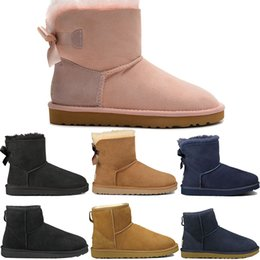 0137b8d2e660 New designer Womens Ankle sheep Snow Boots Fashion Ladies top Height Boots  Woman Wedge Heels Boot Elegant Women Shoes trainer Size eur 5-10 discount  womens ...